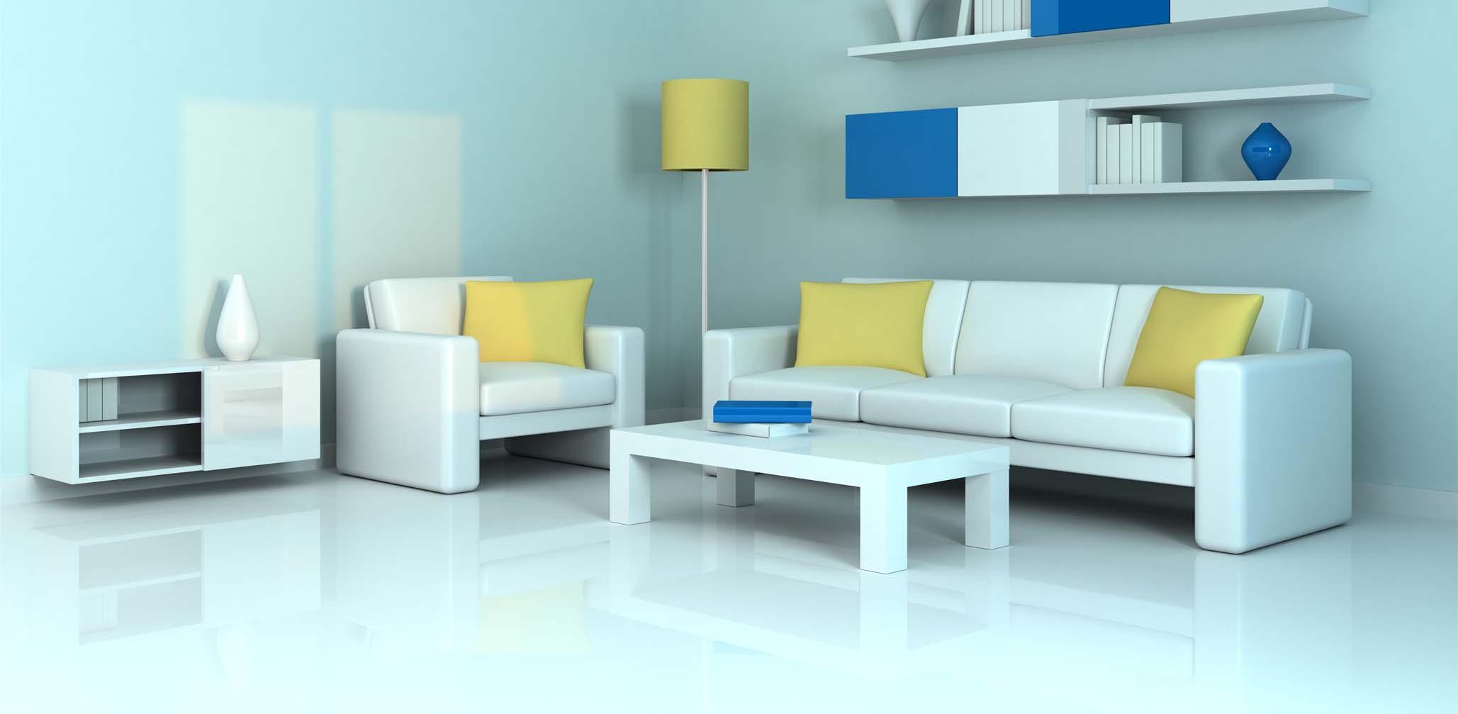 LVT Floor in Living Room